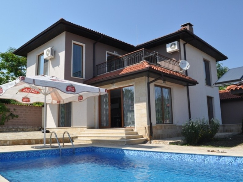Vacation Villa In Balchik Bulgaria Private Pool Garden And Sauna